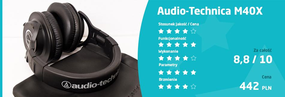 ocena Audio-Technica M40X