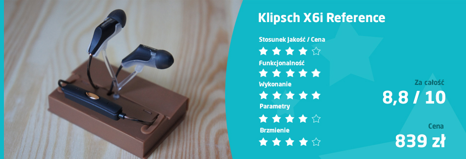 ocena Reference R6 Bluetooth