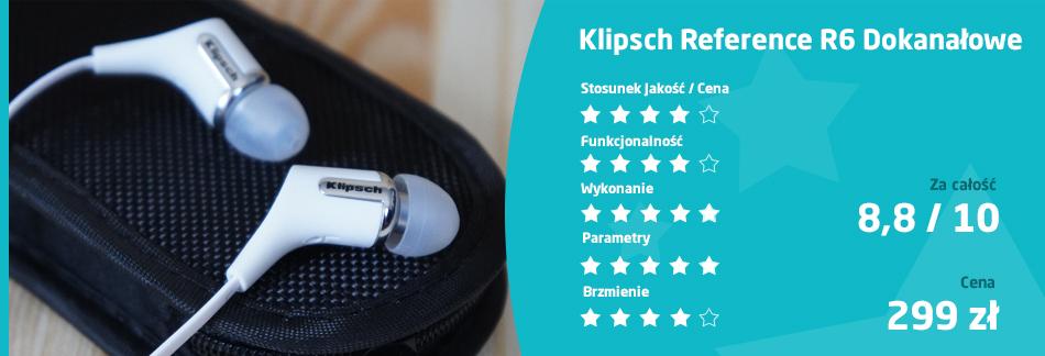 ocena Klipsch Reference