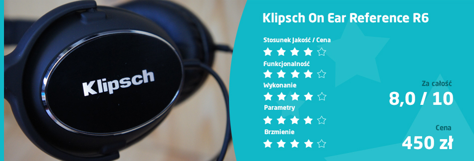ocena Klipsch On Ear Reference